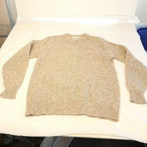 LL Bean Vintage USA Wool Crewneck Sweater Fisherma